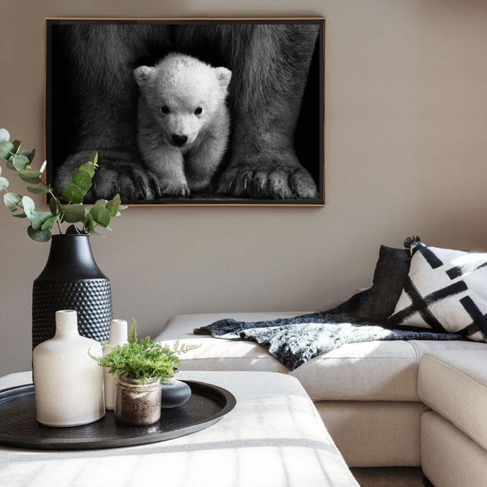 poster ijsbeer met jong