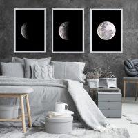 Posterset maan