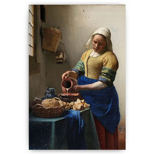 print melkmeisje vermeer
