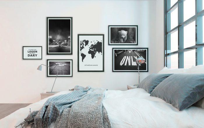 posterset slaapkamer