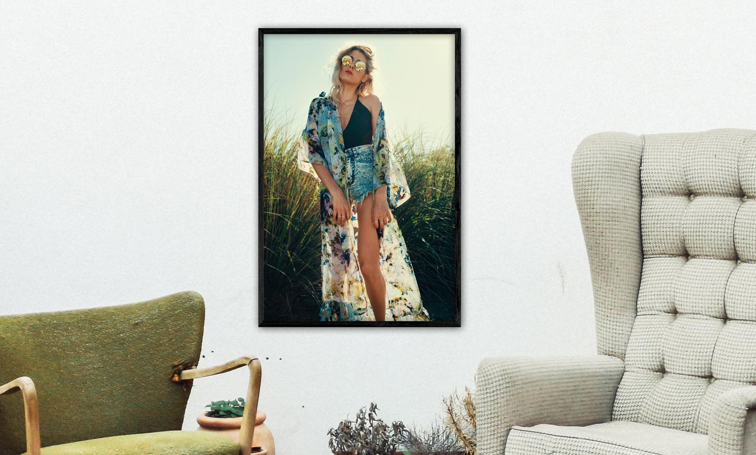 Populaire Kleuren Woonkamer : Posters voor je woonkamer u welke poster past bij welke interieur