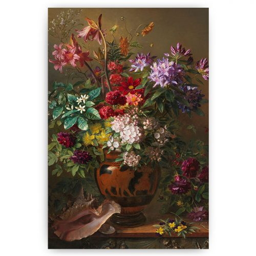poster stilleven bloemen