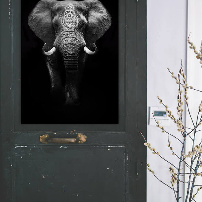 poster boho olifant