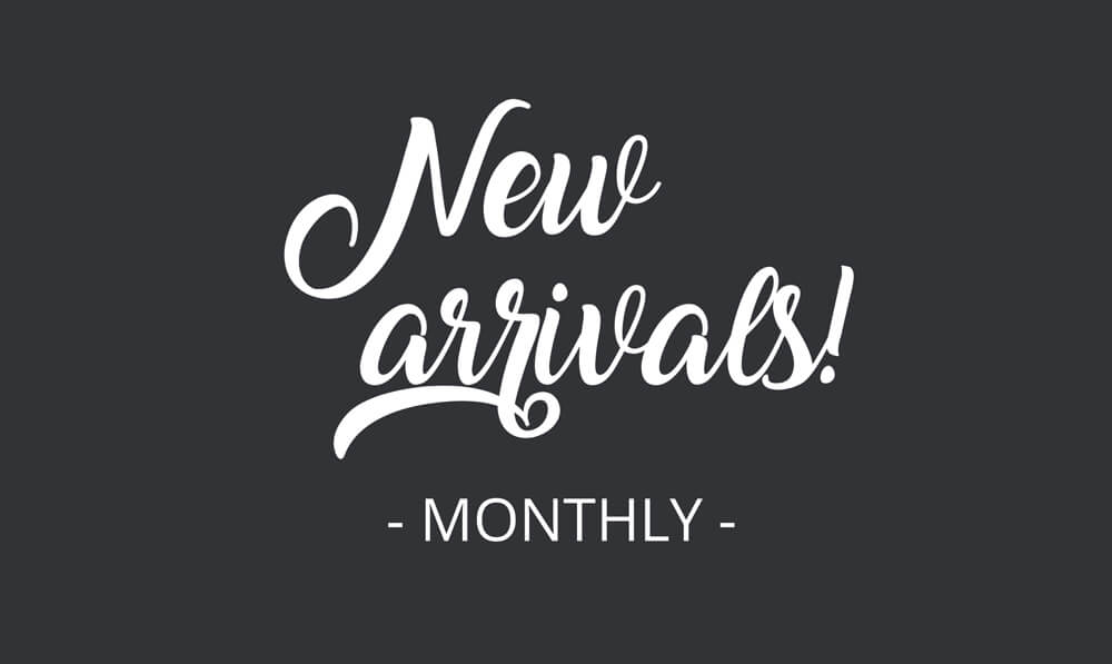 new arrivals nieuwe posters elke maand