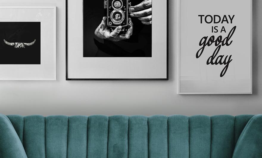 Leuke Posters Woonkamer : Zwart wit posters geven je interieur een stijlvolle look sfeer