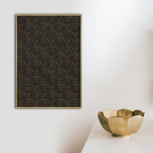 poster artdeco patroon nr2