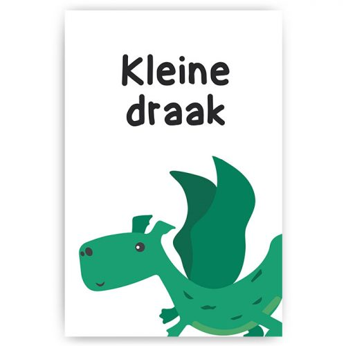 poster kleine draak kinder