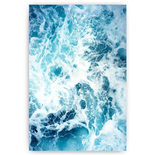 poster zee golven ruig
