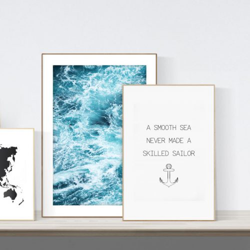posterset smooth sea sailor