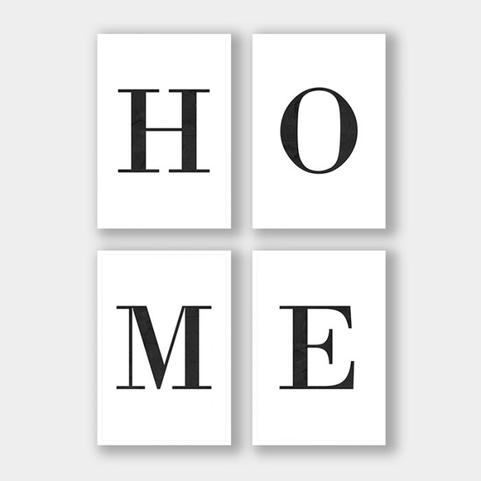 posterset letters home marmer