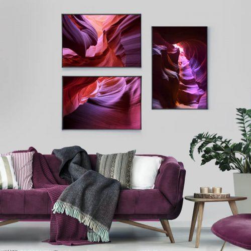 posterset purple canyon