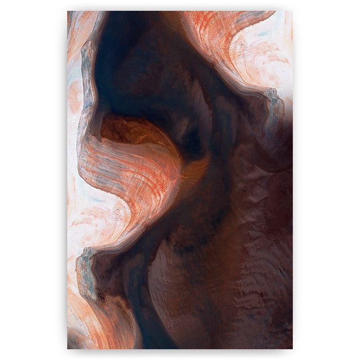 poster abstracte rivier