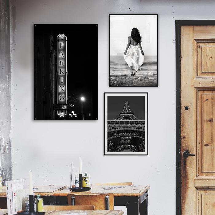 poster wanddecoratie restaurant