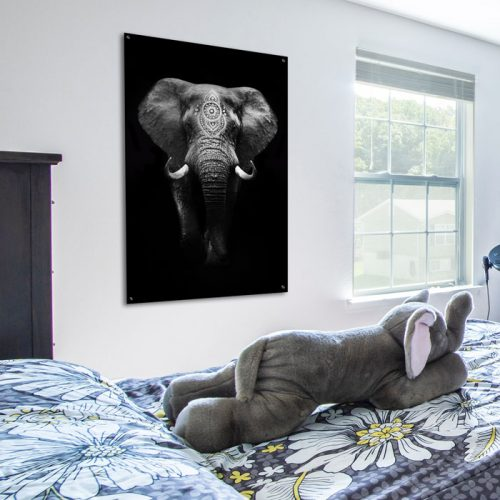 poster olifant babykamer
