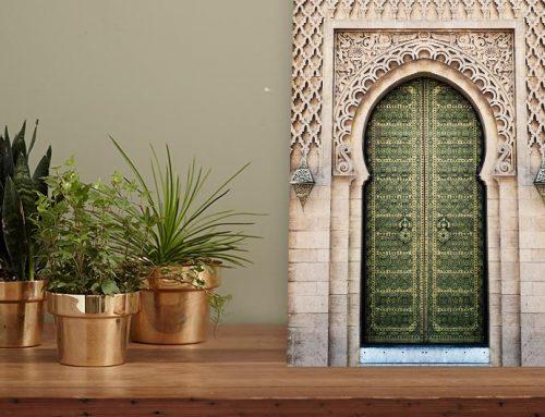 Perfecte posters bij een groene muur woonkamer