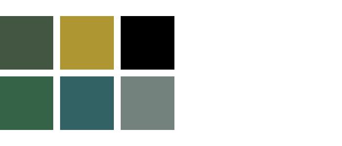 kleur woonkamer groen