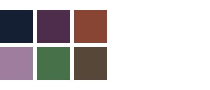 kleuren woonkamer paars