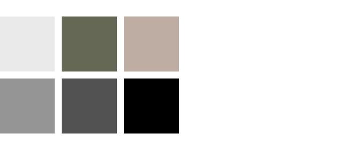 kleuren woonkamer wit