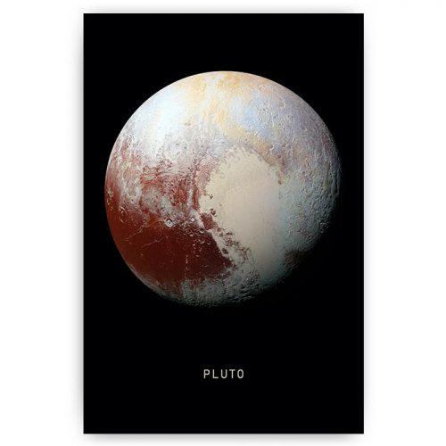 poster planeet pluto