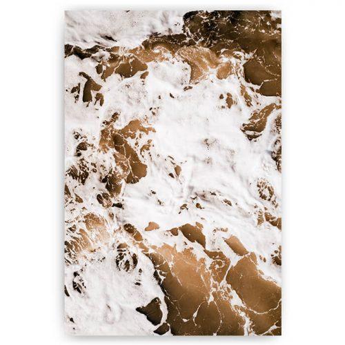 poster bruine zee