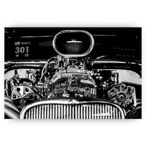 poster klassieke auto