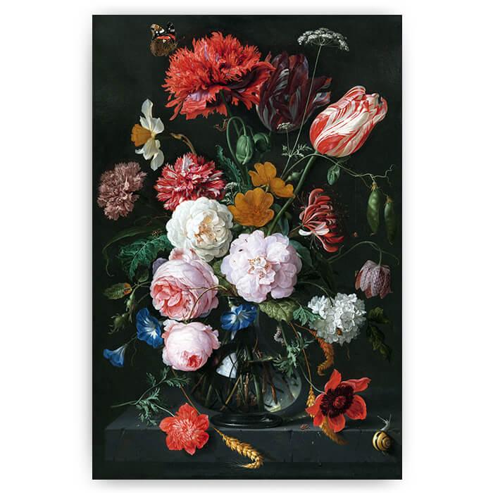 poster stilleven met bloemen kunst