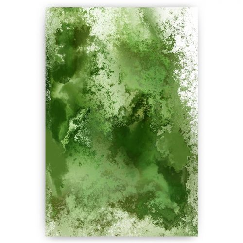 poster abstract groen