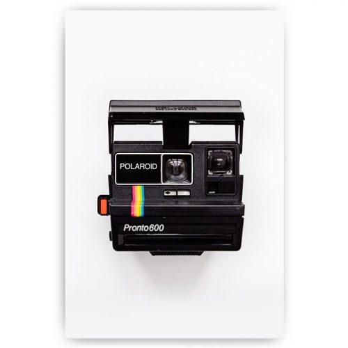 poster polaroid camera