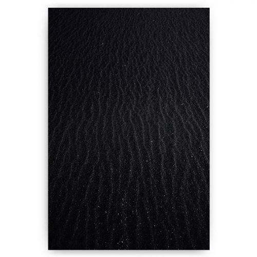 poster zwart zand