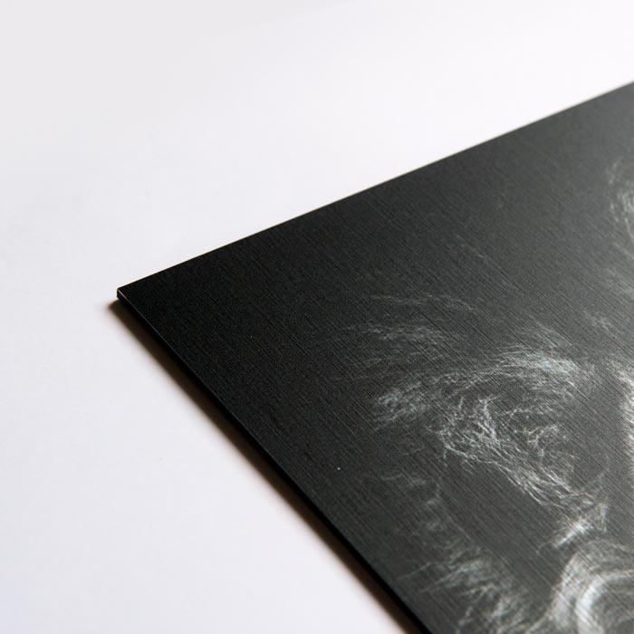 poster aluminum bovenaanzicht