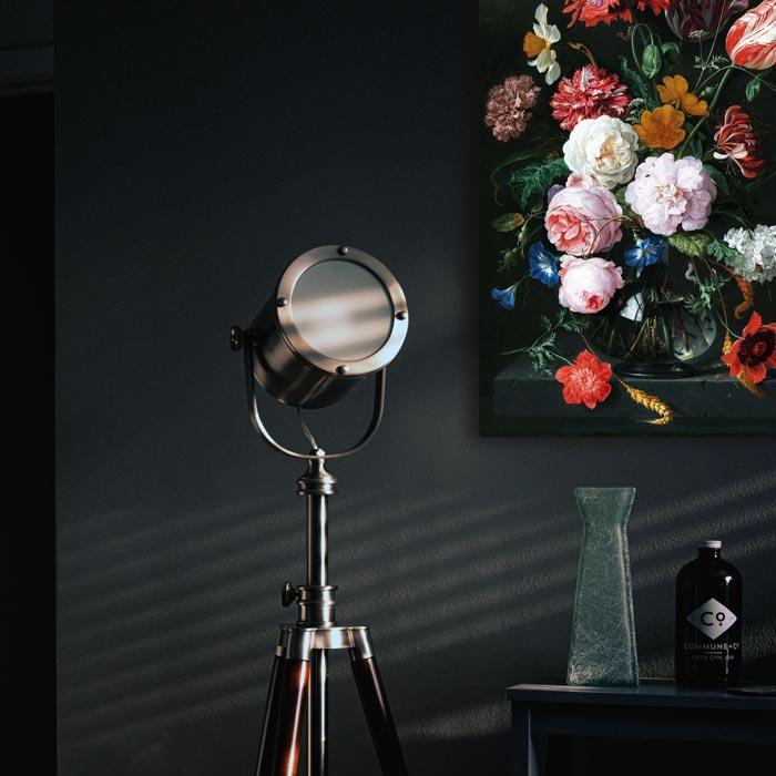 poster canvas stilleven bloemen schilderij