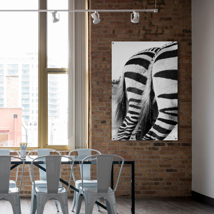 poster zebra bedrijf