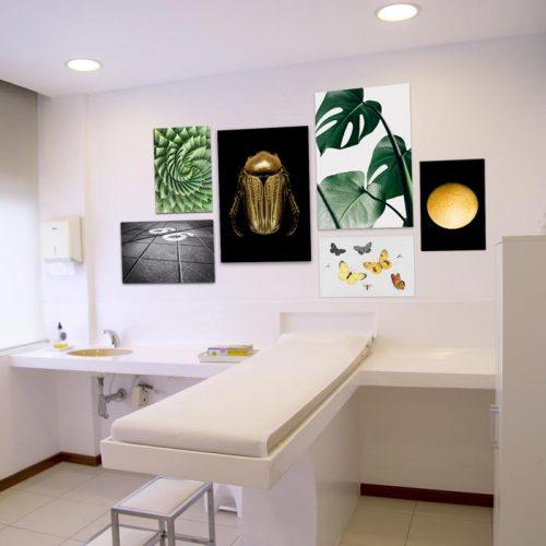 poster set kliniek