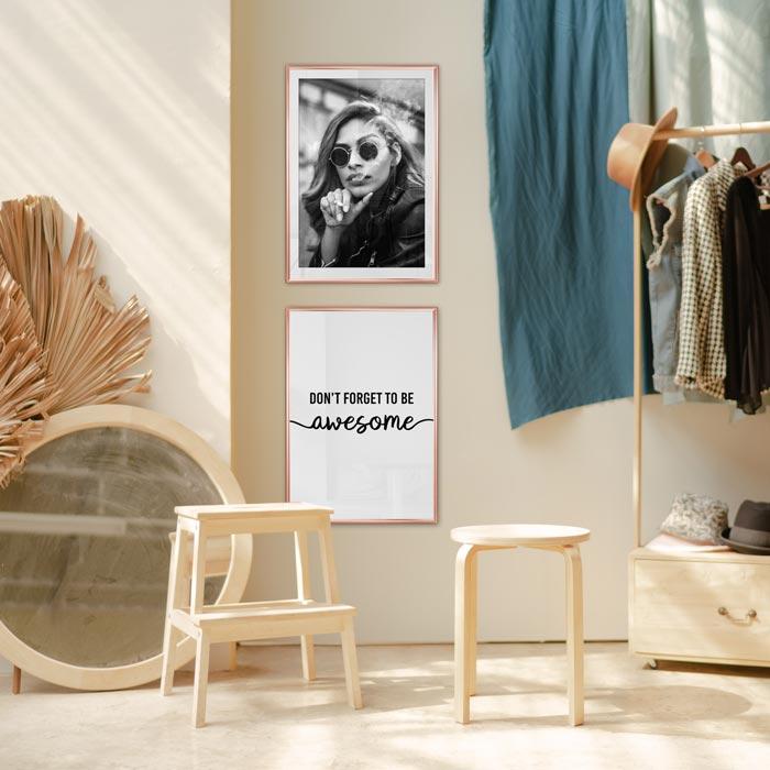 posters kledingwinkel
