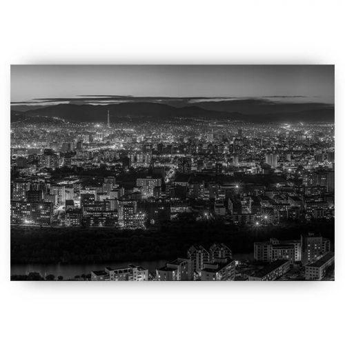 poster uitzicht op parijs