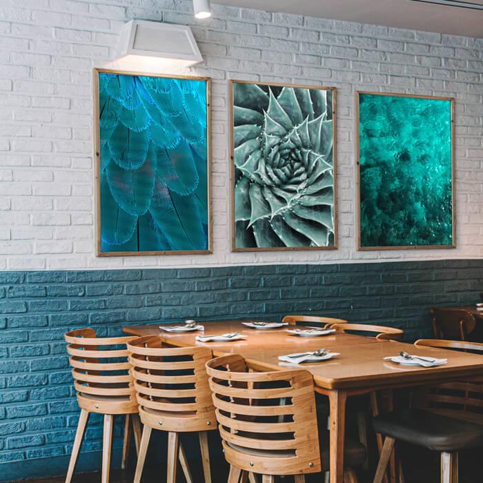 restaurant schilderijen