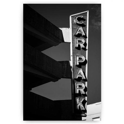 poster car park