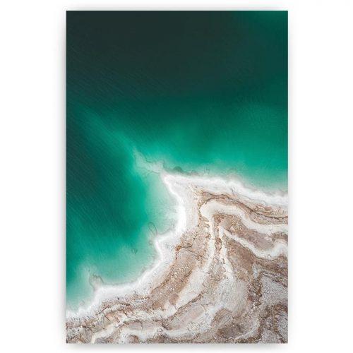 poster zee met kust