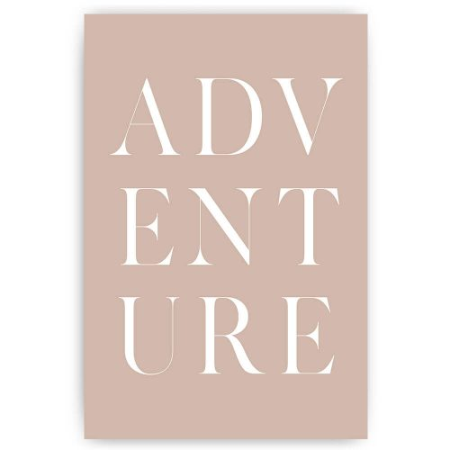 Tekst poster adventure