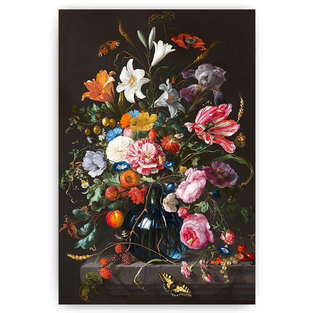 poster bloemen in vaas jan davidsz