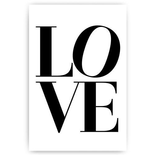 poster letters love