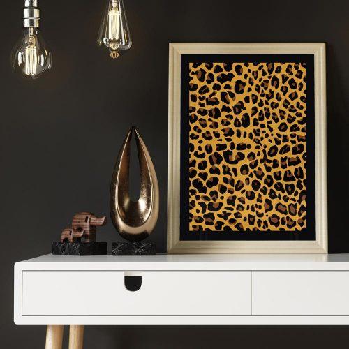 poster luipaardprint