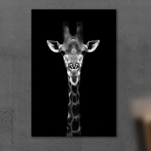 schilderij giraf