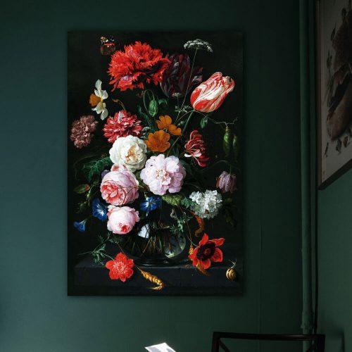 schilderij stilleven bloemen