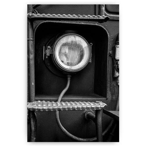 poster oude koplamp
