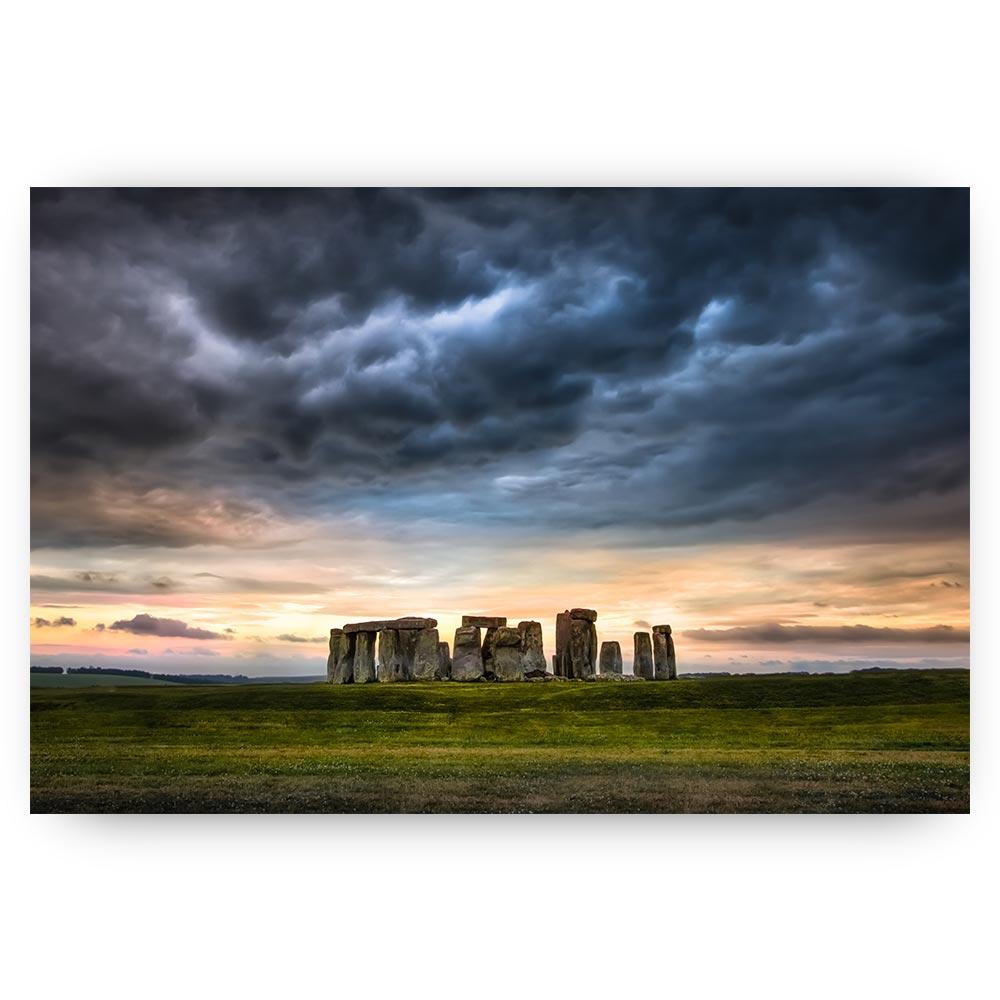 schilderij stonehenge landschap