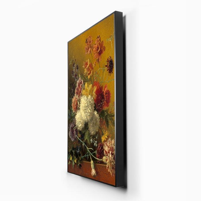 Schilderij Akoestisch Paneel zijkant