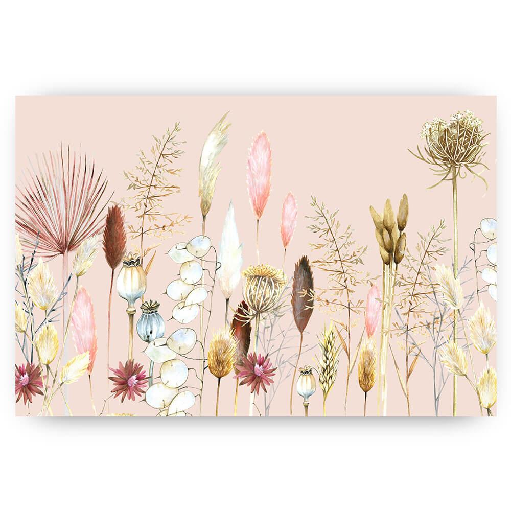 Bloemen en grassen