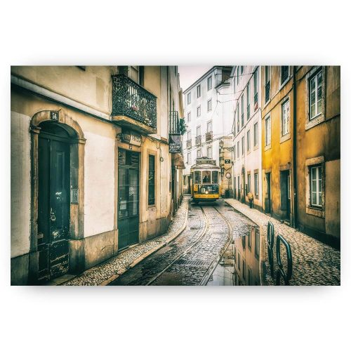 straat lissabon stad
