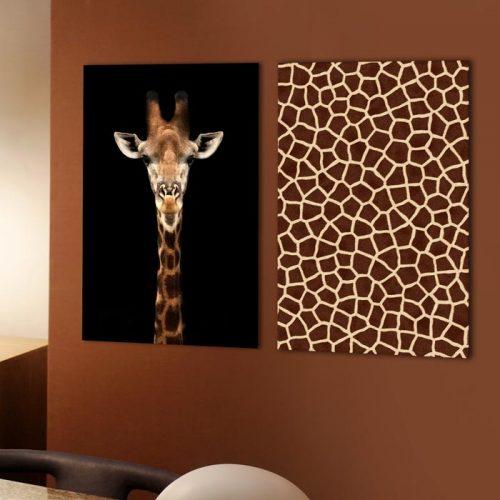 set giraffe giraf dier